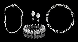 Collection of Sterling Silver Jewlery