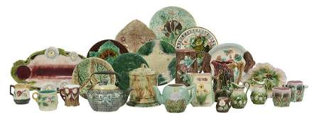 Collection of Assorted Majolica