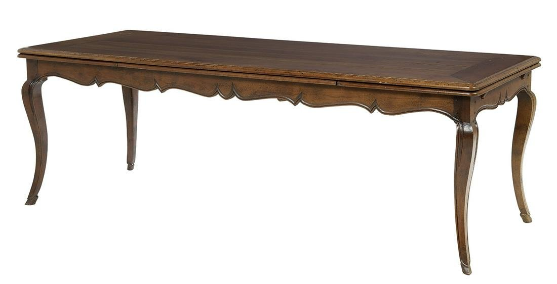 Provincial Louis XV-Style Refectory Table