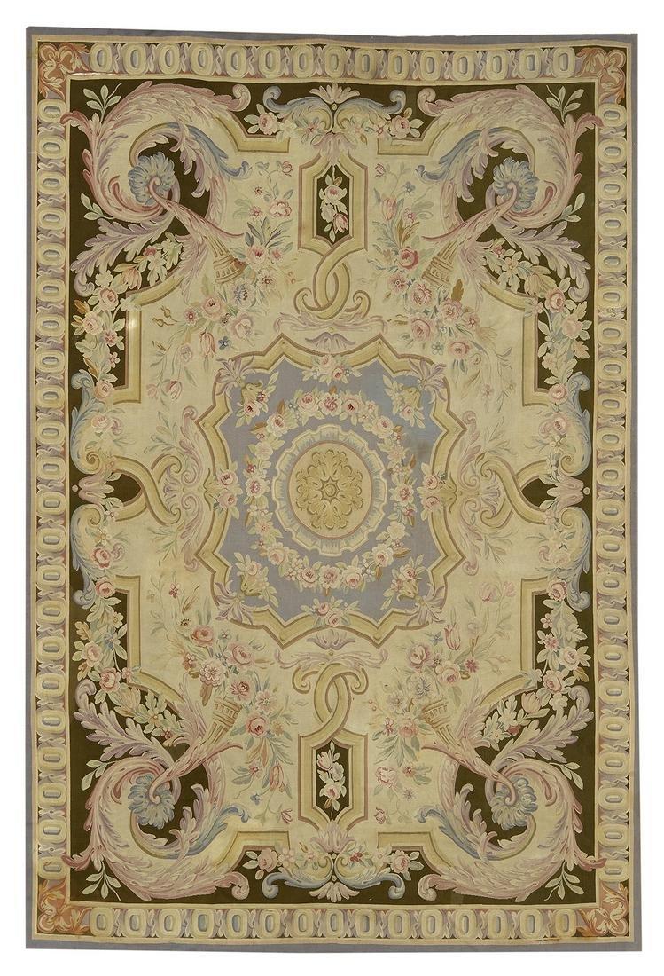 English Needlepoint Carpet