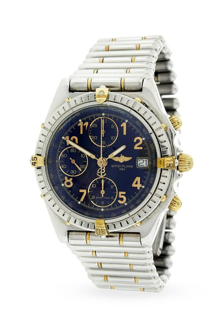 Gentleman's Breitling Chronograph Watch