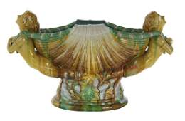 Majolica Centerpiece in the Victorian Style