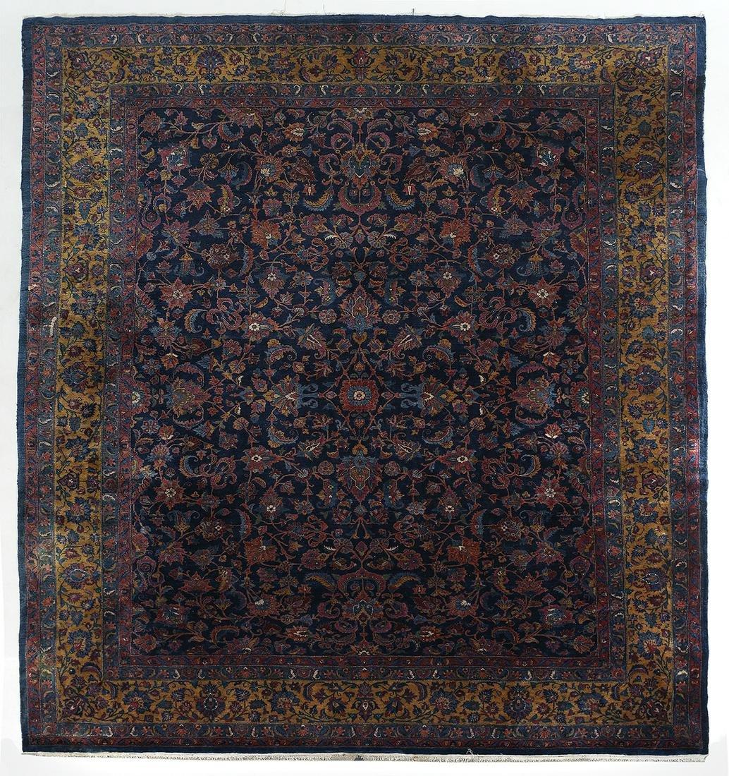 Antique Kashan Carpet