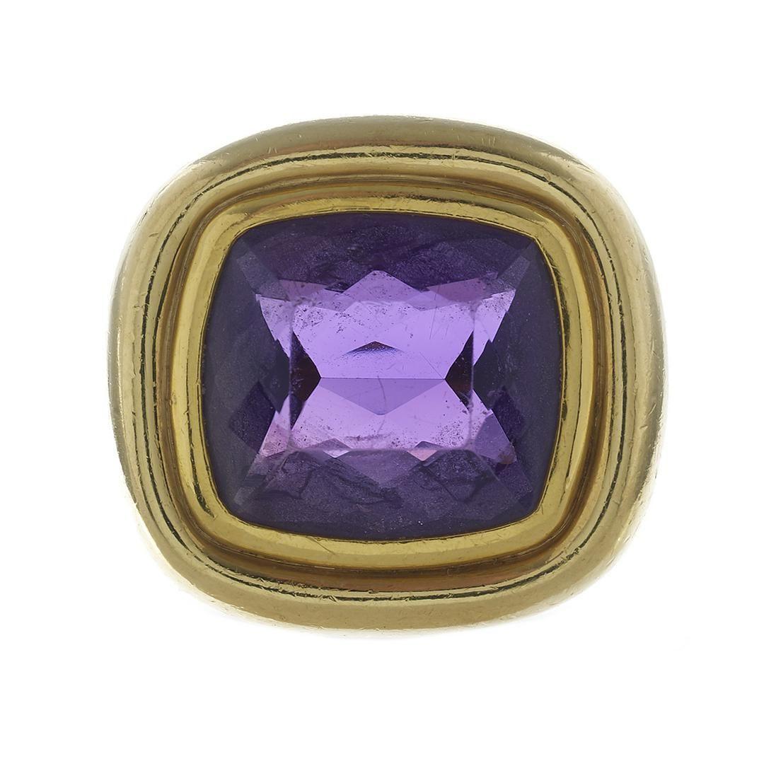Paloma Picasso Tiffany & Co. Amethyst Ring