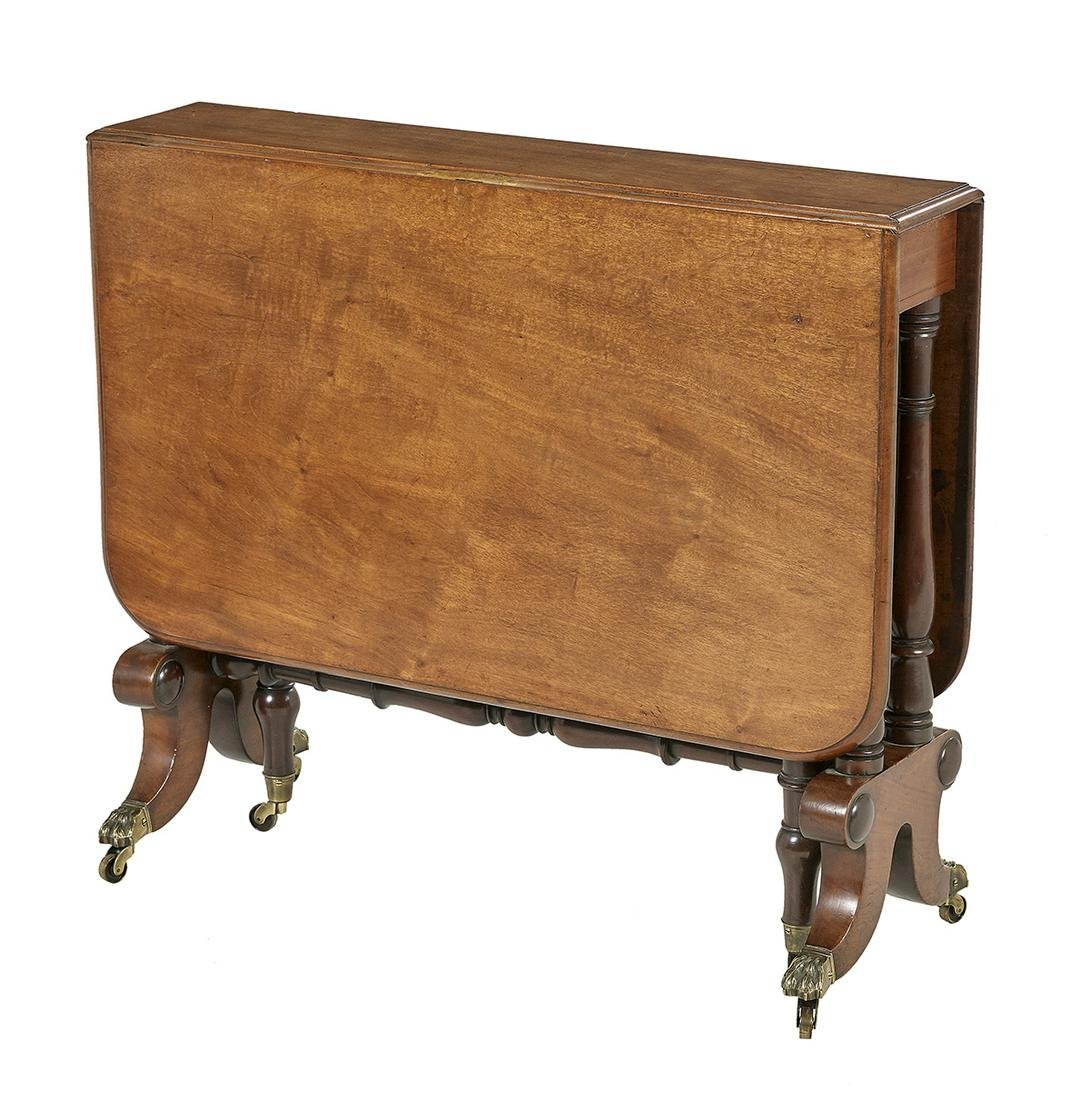 Regency Mahogany Sunderland Drop-Leaf Table