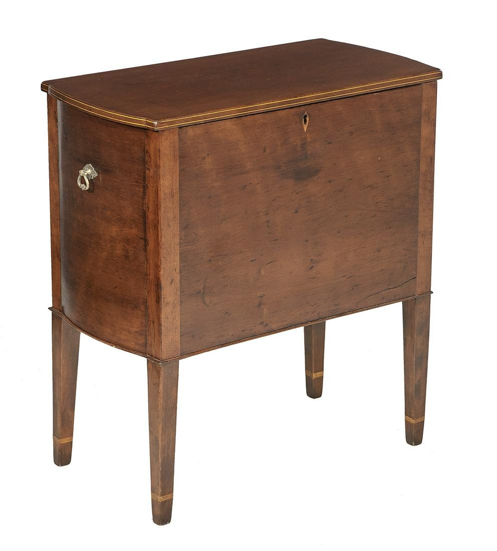 American Federal Cherrywood Box on Stand