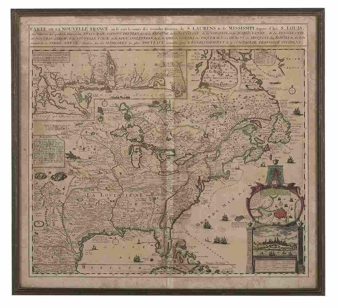 Carte de la Nouvelle France