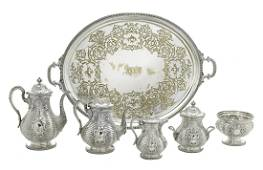 Important Tiffany & Co. Sterling Silver Tea Set