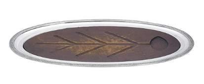 Good American Sterling Silver Serving Platter