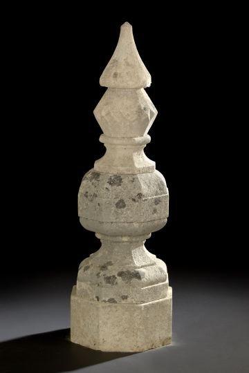 2: Continental Cast-Stone Garden Garniture