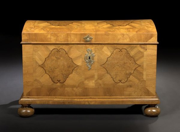 15: Continental Elm, Burl Wood and Fruitwood Trunk