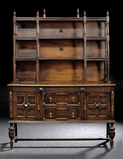 654: English Oak Dresser
