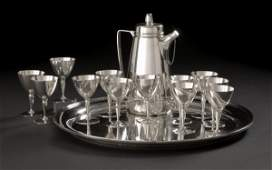 765 14Piece Tiffany  Co Silver Cocktail Set