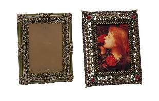 """Jay Strongwater """"Patricia"""" Picture Frame"""