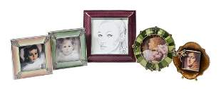 Five Jay Strongwater Picture Frames