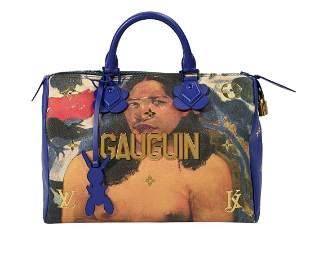 """Louis Vuitton Jeff Koons """"Speedy"""" Handbag"""