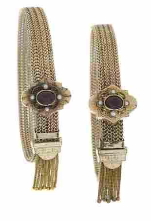 Two Victorian Bracelets