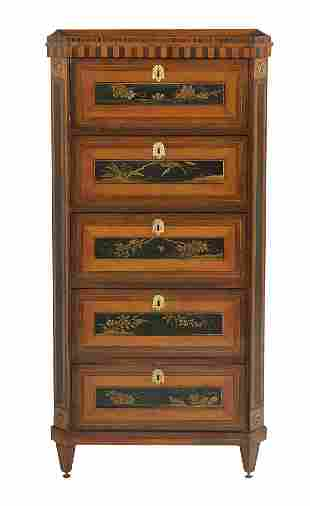 Dutch Neoclassical Chinoiserie and Chest