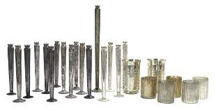 Collection of Contemporary Mercury Glass