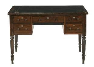 Late Regency Rosewood Desk