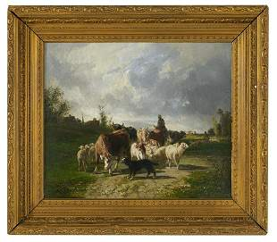 Andre Cortes (Belgian, b. 1866)