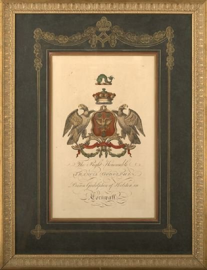 7: Arms of Baron Godolphin of Helston, Cornwall