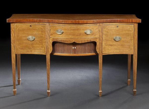 11: George III-Style Mahogany Sideboard