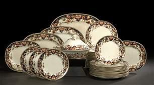 390 Assembled 42Piece Minton Pottery Dinner Service