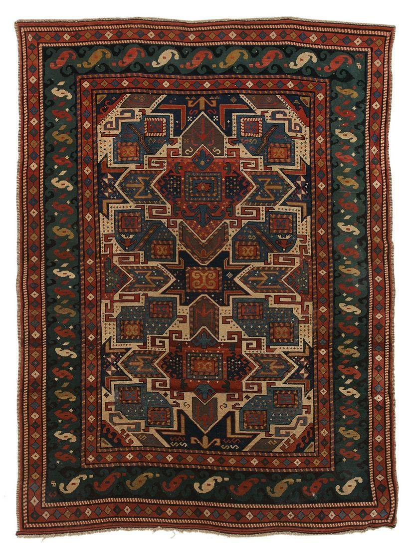 Dagestan Gendje Caucasian Carpet