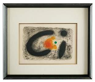After Joan Miro, (Spanish, 1893-1983)