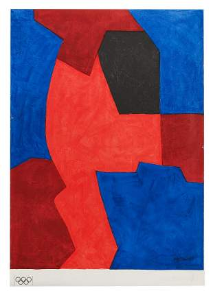 After Serge Poliakoff, (Russian, 1900-1969)