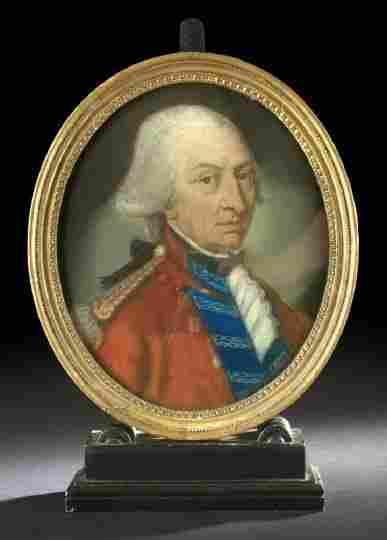 Pastel Portrait of Lt. Col. Stephen Kemble