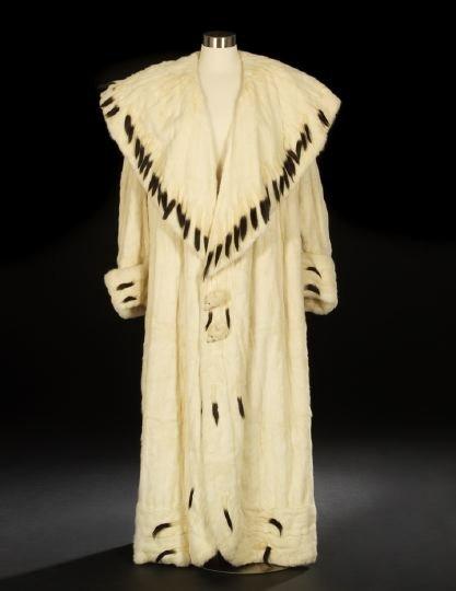 678: Ermine Fur Coat