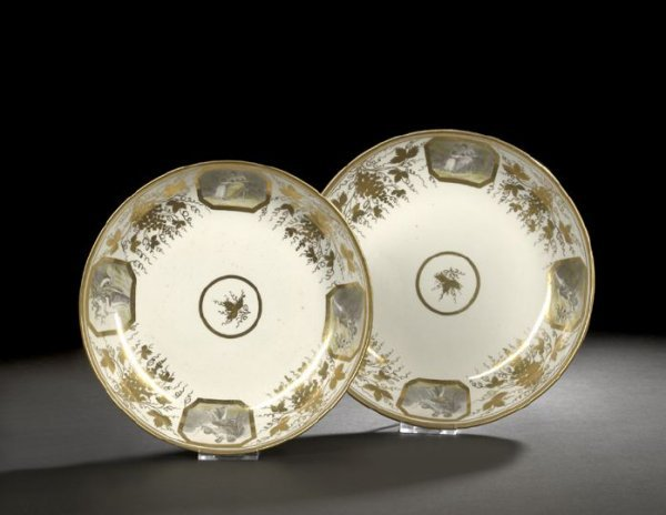 12: Pair of Miles Mason, England, Graduated Bowls