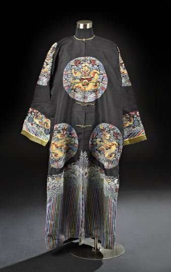 616: Men's Mandarin Summer Robe