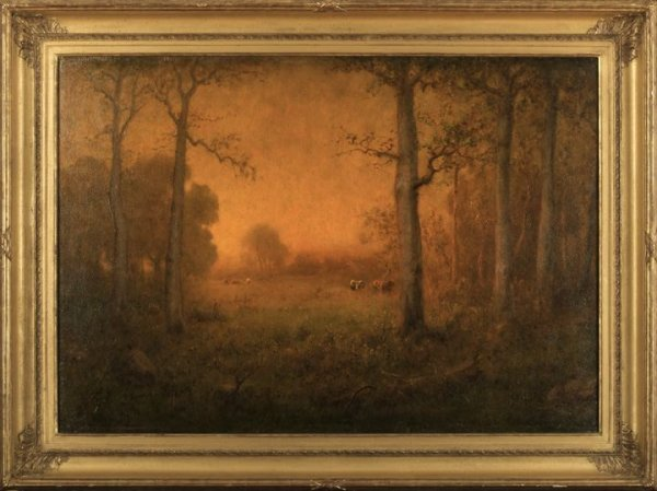 693: George Inness (American/New York, 1825-1894)