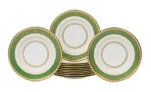 Set of Twelve Minton Dinner Plates