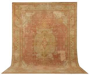 Late 19th Century Antique Oushak Carpet