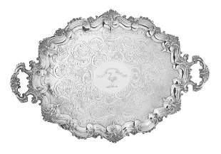 William IV Sterling Silver Tray