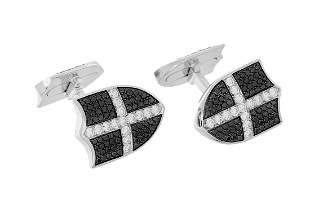 Garrard Diamond Cufflinks