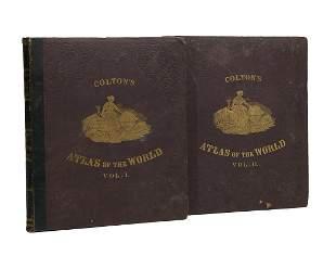 "George W. Colton, ""Colton's Atlas of the World"""