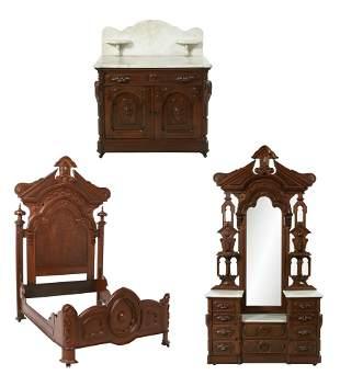 Transitional Rococo/Renaissance Bedroom Suite