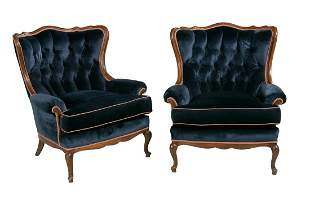 Pair of Victorian-Style Mahogany Chairs