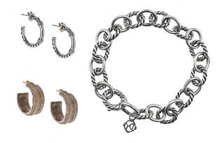 David Yurman and Mignon Faget Jewelry Suite
