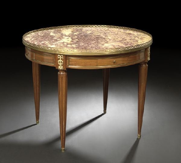 3: Louis XVI-Style Mahogany Center Table