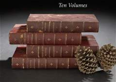 334 10 Volumes of Historic and Secret Court Memoirs