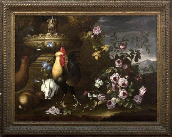 621: Manner of P. Casteels III (Flemish, 1684-1749)