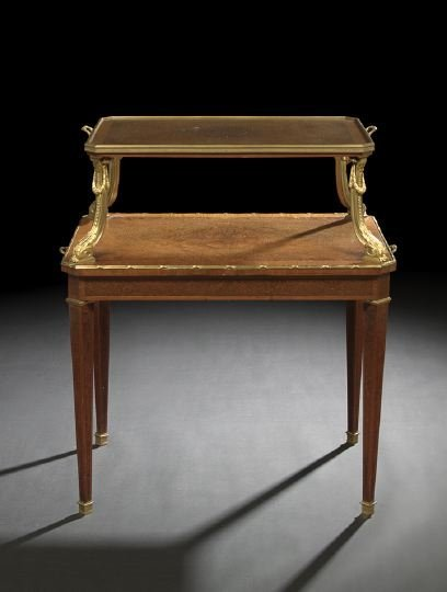 624: Louis XVI-Style Tiered Serving Table