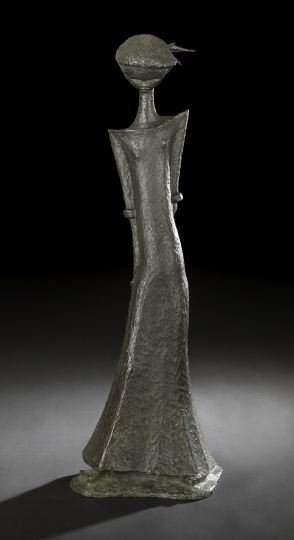 1735: Angel Botello (Puerto Rican, 1913-1986)