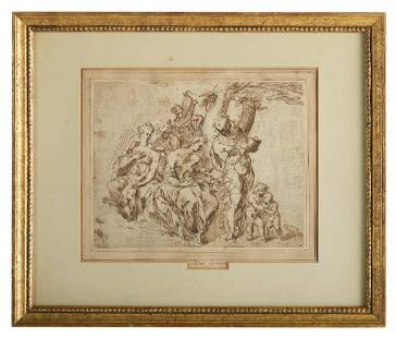 Attributed to Taddeo Zuccaro (Italian 1529-1566)